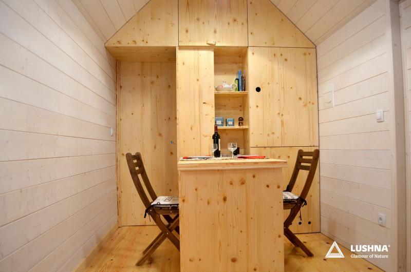 lushna petite life glamping cabin wooden pod