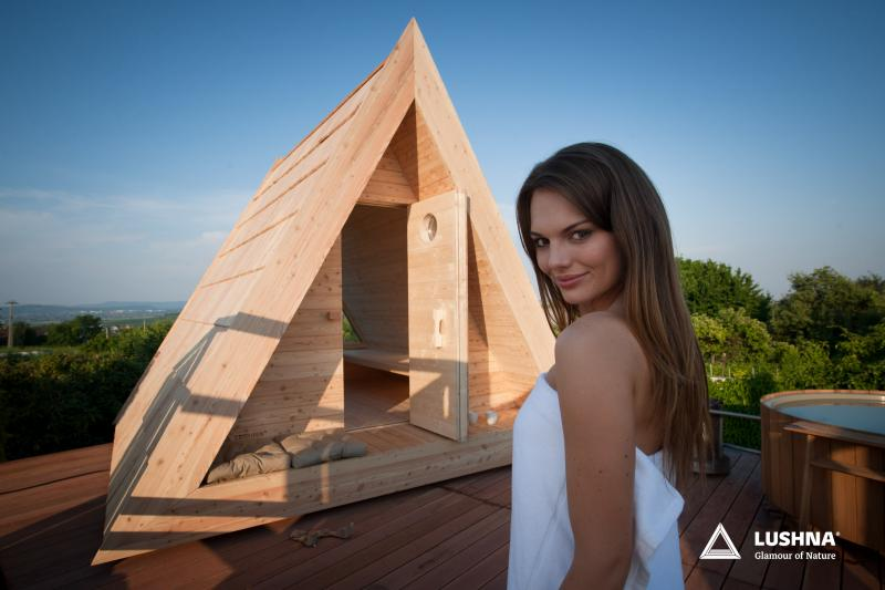 lushna outdoor sauna glamping wooden finnish luxury wood wellness spa buy manufacturer