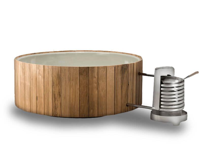Dutchtub wood hot tub