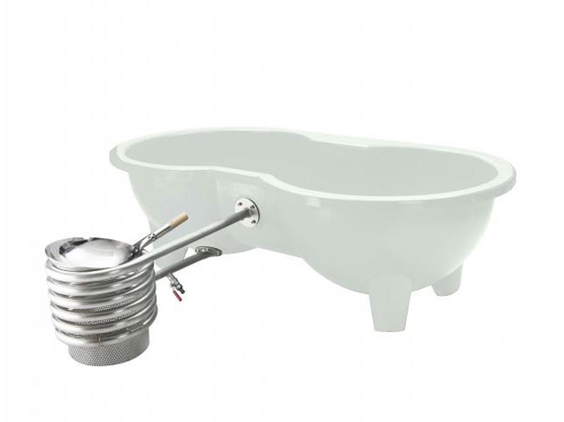 Dutchtub loveseat hot tub