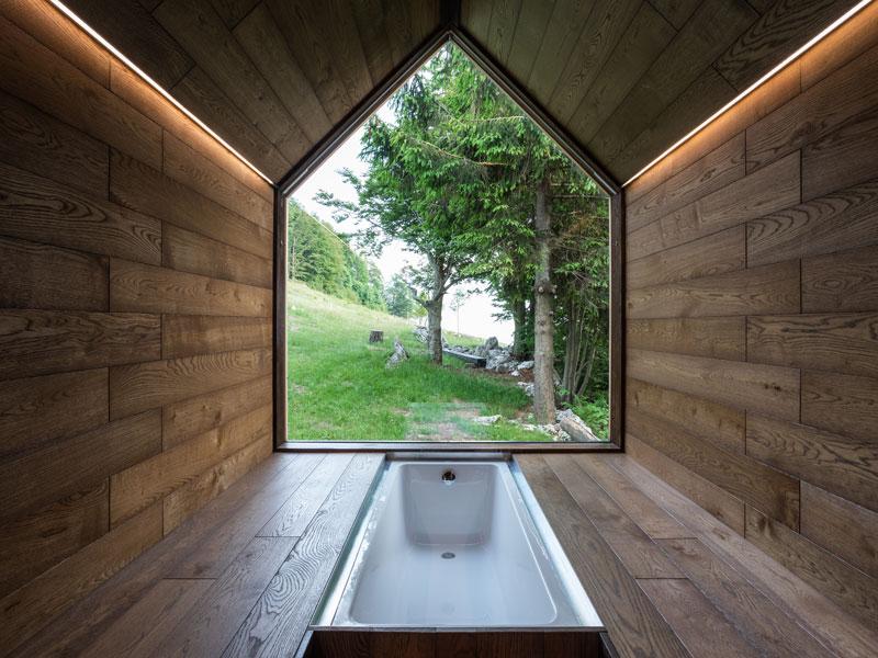 Sauna in the woods