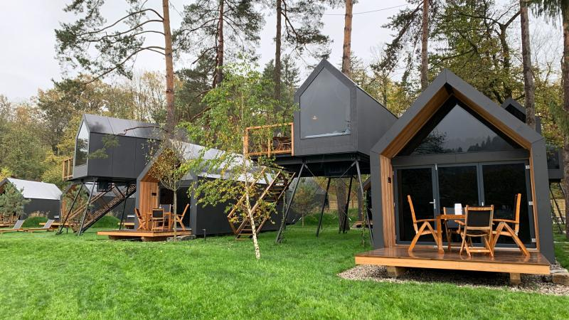 New luxury Shadow line cabins | Portugal Glamping